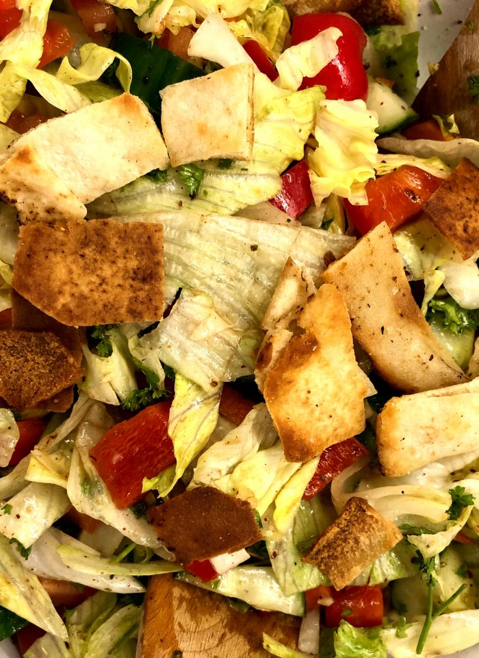 Foodie Friday: Simple Fattoush Salad