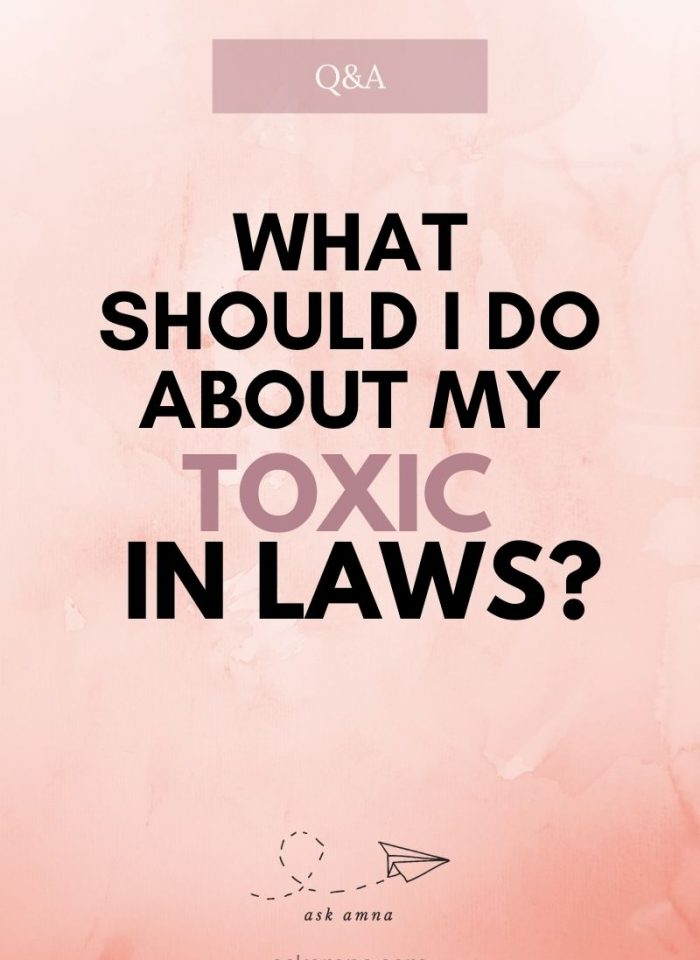 Question 9: Toxic In Laws